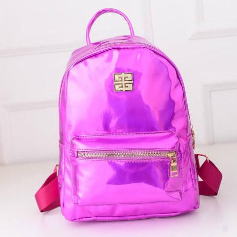 Женский галограммный рюкзак