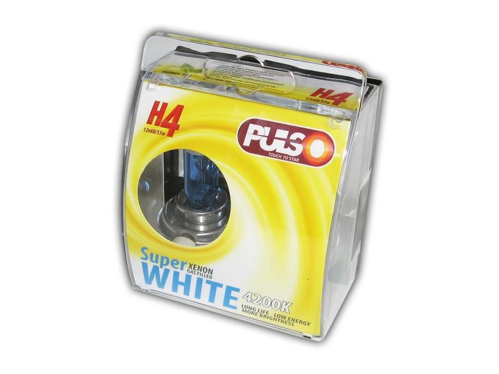Галогенка H4 PULSO 24V 75/70W LP-42471 Super White