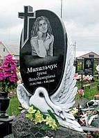 Памятник с лебедем ПГ - 084