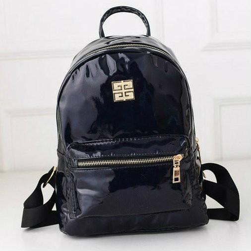 городской блестящий рюкзак