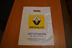 Пакет банан с вырубной ручкой 700х600,60 мкм , фото 2