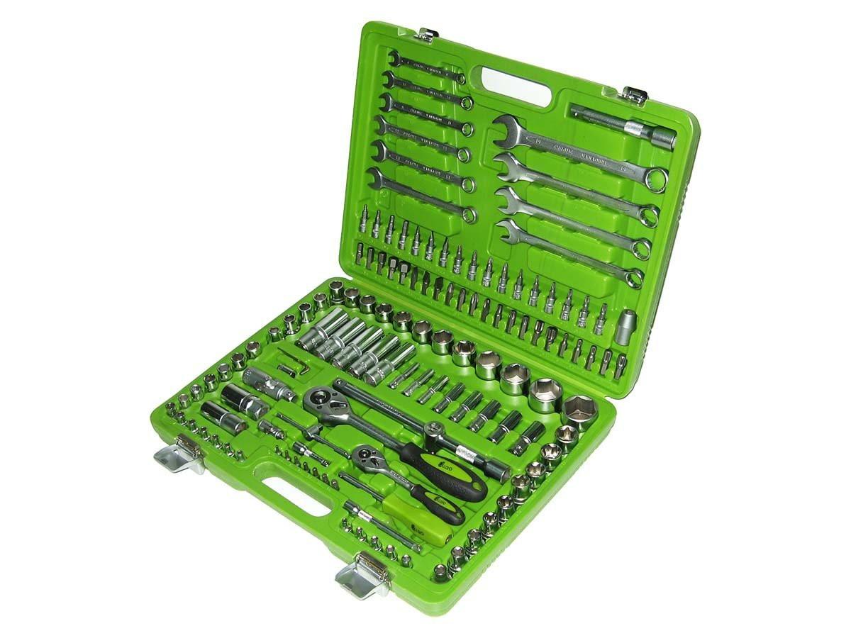 Набор ключей и инструментов 130 пр. НГ-4130П-6 Alloid