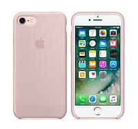 Силіконовий чохол для Айфона 7 / 8 Apple iPhone Silicone case накладка на Айфон Матовий, Pink sand, фото 1