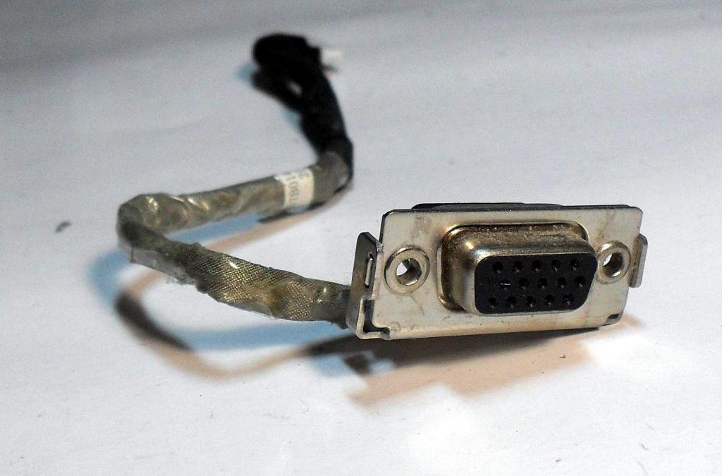 160 Разъем VGA Toshiba L300 L305 L300D L305D - 6017B0164801 6017B0146301