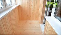 Обшивка балкона вагонкой, фото 1