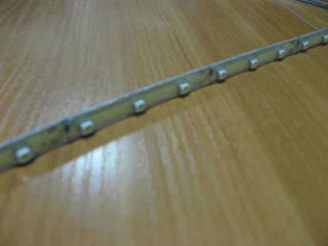 Подсветка гибкая Т 30LEDх50см белая SMD