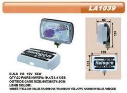 Дополнительные фары противотуманные DLAA LA-1039 RY H3-12V-55W/159*101mm/крышка пара