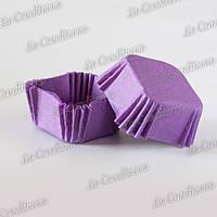 Формочки для конфет, квадратные, сиреневые (40x40x22 мм), 1500 шт.