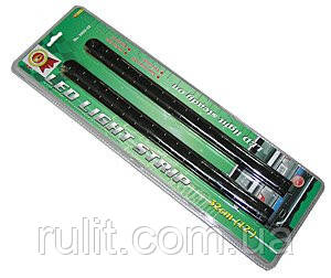 Подсветка гибкая KL-3992-32 G 33LEDх32см зелёная