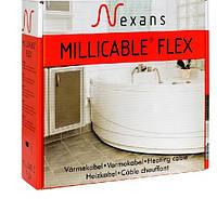 Теплый пол без стяжки под ламинат, кафель 10-13.9 м.кв 1800 Вт. Тонкий кабель Nexans. Гарантия 20 лет.