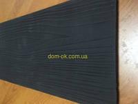Фиброцементный сайдинг Черно-коричневый