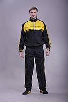 Спортивный костюм MONTANA черно-желтый р. M