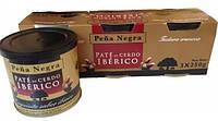 Паштет из черной иберийской свиньи Pena Negra Pate de Cerdo Iberico  БЕЗ ГЛЮТЕНА, 750 г (3x250 г)