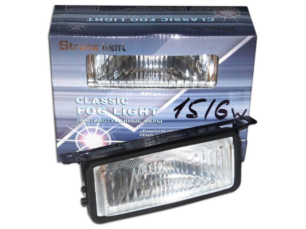 Дополнительные фары противотуманные STRONG LIGHT SL-1516 W 155x70 62 пара