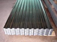 Профнастил цинк 0,5 мм 10-волновой (Х*0,92)