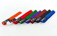 Пояс для кимоно(цветные) MATSA MA-0040