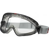 Защитные очки закрытые 3М 2890 с поликарбонатной линзой