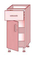 Нижний модуль 42 к кухням Prestige, Mirror Gloss и Hight Gloss фабрики Mebel-Star