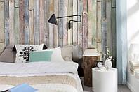 Фотообои на стену «Состаренные деревянные рейки». Komar 4-910 Vintage Wood