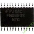 Микросхема FMS6502 FMS6502MTC24 TSSOP-24
