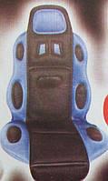 Накидка на сидение F-19002 BL/BK высокая син.+черн
