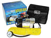 Автомобильный компрессор Ураган 12055 150psi/14Amp/35 автомобильный насос для подкачки шин клеммы