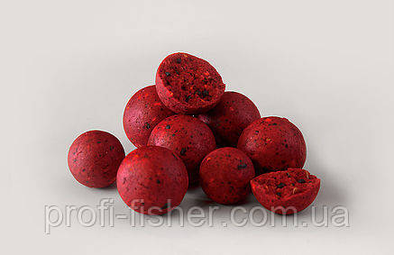 FFEM Soluble Boilies Strawberry 22mm