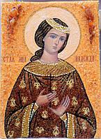 Икона из янтаря Святая Надежда