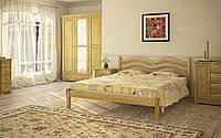 """Кровать двуспальная деревянная """"Л-216"""""""