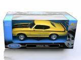 Модель автомобиля 1:24 BUICK 1970 GSX, Welly, 22433W