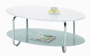 Журнальный столик со стеклом Grena