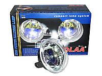 Дополнительные фары противотуманные DLAA LA-168 XRY d=90mm гладкая