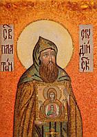 Икона из янтаря Платон Студийский