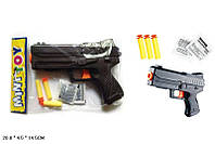 Пистолет игрушечный с гелевыми пульками и присосками, YT886