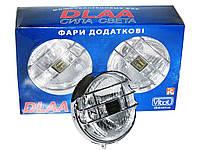 Дополнительные фары противотуманные DLAA LA-1090 EW хром H3-12V-55W/D=128mm пара