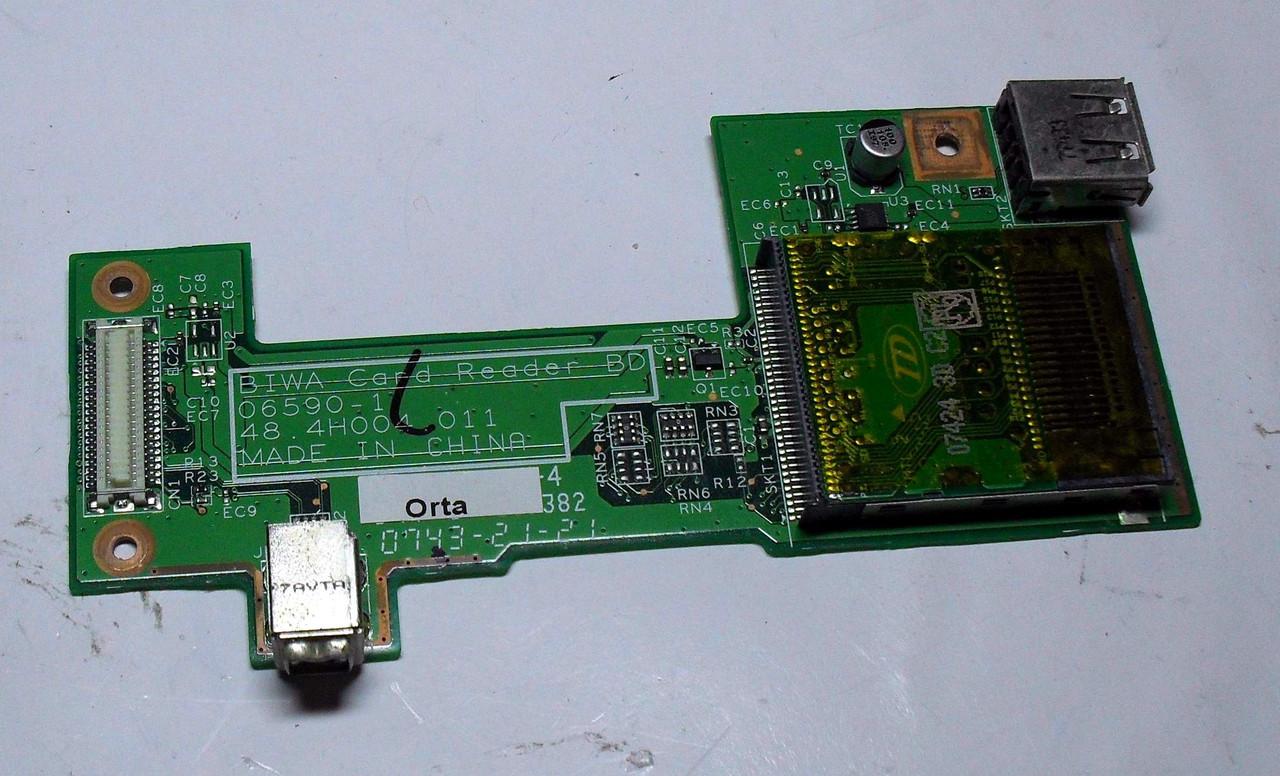 195 Кардридер + USB Acer TravelMate 4520 Extensa 4420 4620 - 06590-1 48.4H004.011
