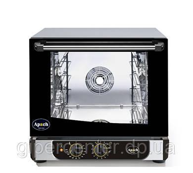 Конвекционная печь Apach AD44M ECO с механическим управлением (4 уровня 450х340 мм), без пароувлажнения