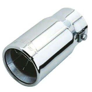 """Насадка наконечник глушителя 0307 d-2,5"""" нержавейка тюнинг на выхлопную трубу глушитель универсальная"""