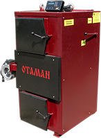 Твердотопливный котел утилизатор длительного горения OTAMAN 100