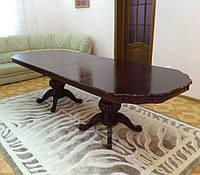 Стол деревянный обеденный Классический (Венге)