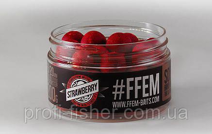 FFEM Soluble Boilies Strawberry 16/20mm