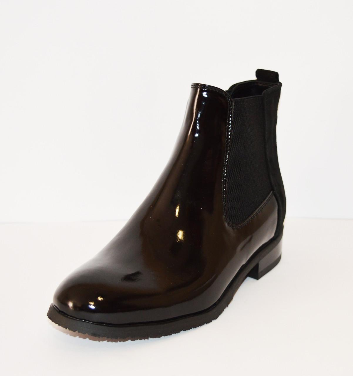 Ботинки женские лакированные Kento