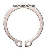 Кольцо стопорное наружное нержавеющее, эксцентрическое от Ø4 до Ø300, ГОСТ 13942-86, DIN 471