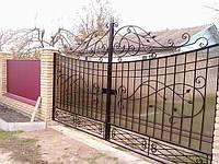 Кованые ворота арт.в 8, фото 1