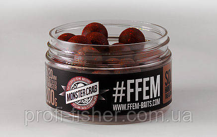 FFEM Soluble Boilies Monster Crab 16/20mm