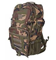Рюкзак Туристический нейлон Innturt Large A1021-5 camouflage, рюкзак с камуфляжем, большое количество карманов