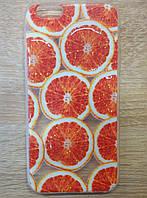 Чехол силиконовый для iPhone 6/6s, блестки