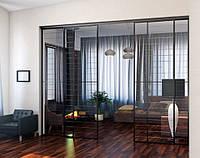 Стеклянные перегородки для квартир и домов