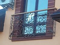 Кованые перила на окна арт.кп 15