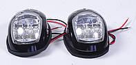 Пара навигационных огней  LED, черный корпус
